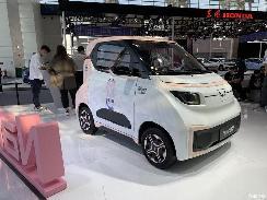 2021天津车展:五菱NanoEV特别版发布