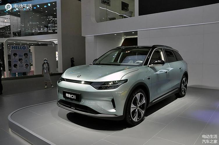 2021天津车展:实拍零跑汽车C11