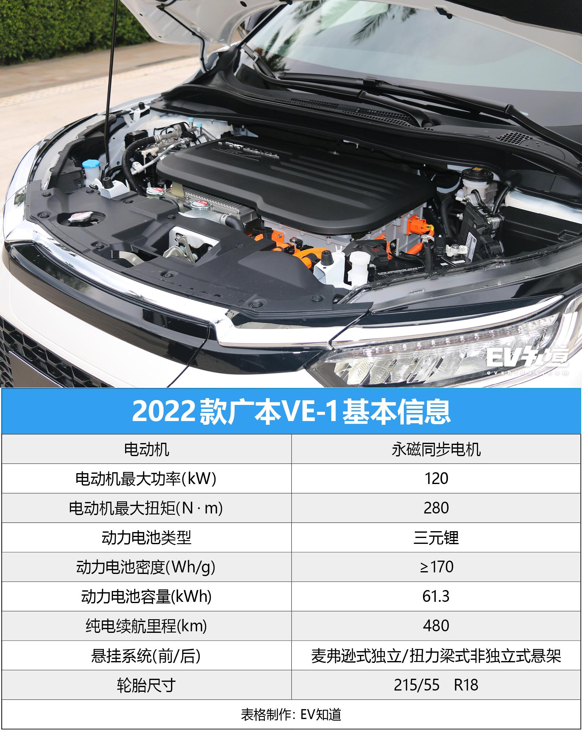 本田基因/全面升级 试驾体验2022款 VE-1 TA系列