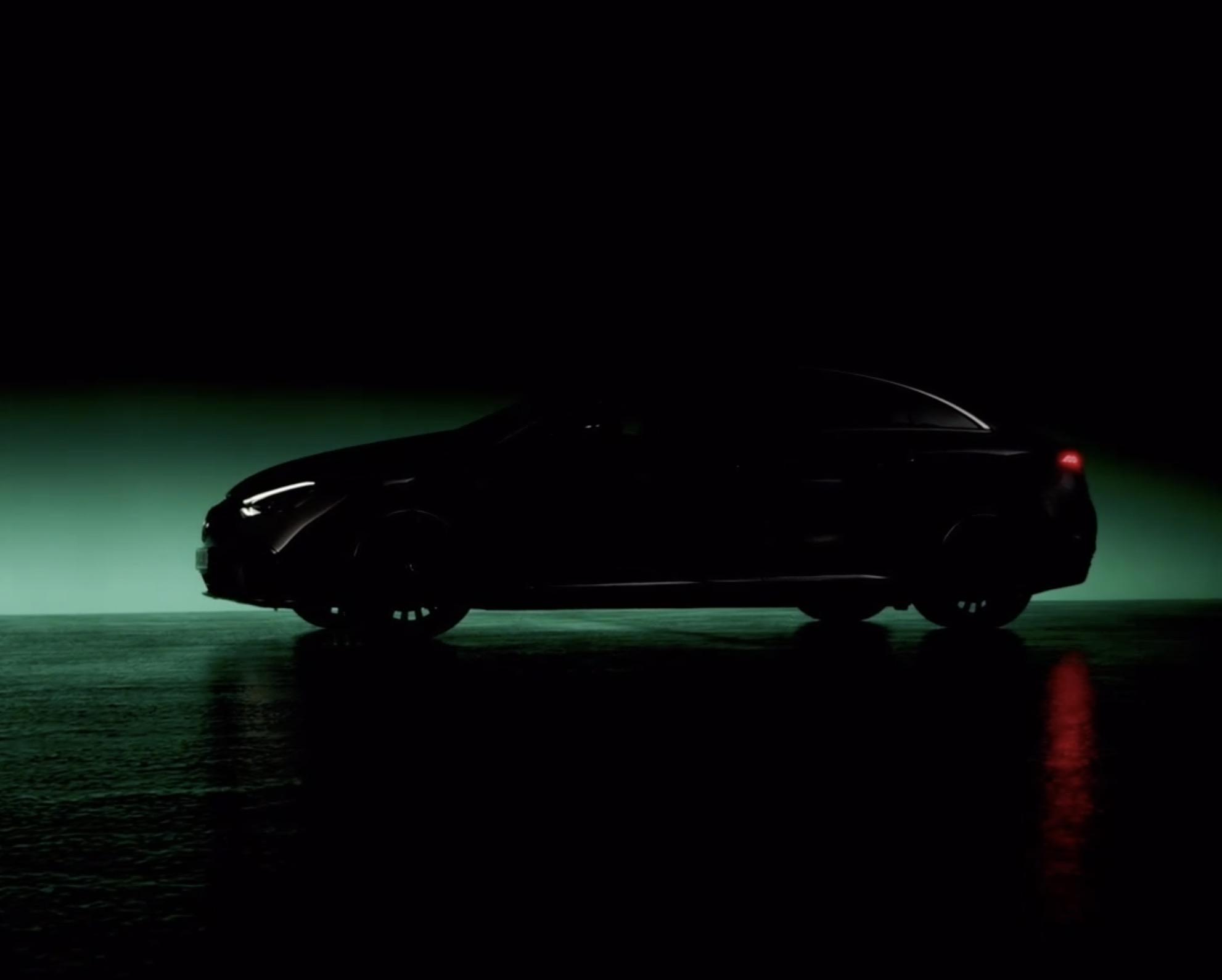 将于慕尼黑车展亮相 奔驰发布三款电动车型预告图