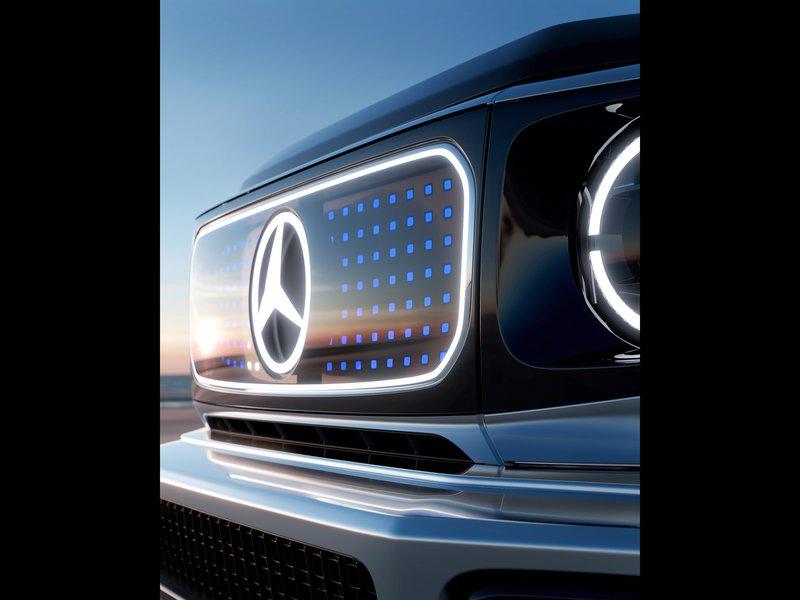 四电机四轮驱动,最大功率或超G63,奔驰EQG概念车亮相慕尼黑车展