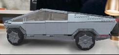 美高即将推出Cybertruck仿制积木 共有3千块部件/售价约合人民币1606元
