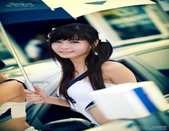 看不尽的美丽:韩国车模美女经典合集 (27图)
