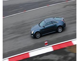 凯迪拉克CTS_Coupe试车
