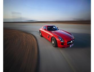 梅赛德斯-奔驰SLS_AMG测试