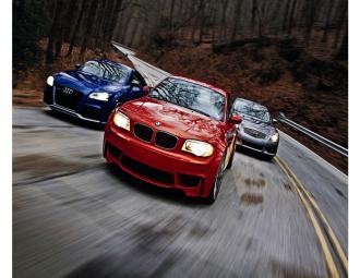 三款高性能轿跑车跨级对比 (21图)