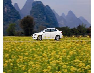 三菱蓝瑟翼神2011款试车 (5图)