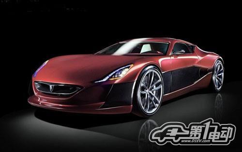 号称史上最快电动车 Rimac One概念车车展首发