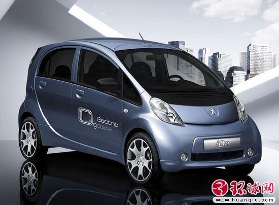 标志Ion电动汽车-标致雪铁龙携手通用电气 欧洲研发新型电动车高清图片
