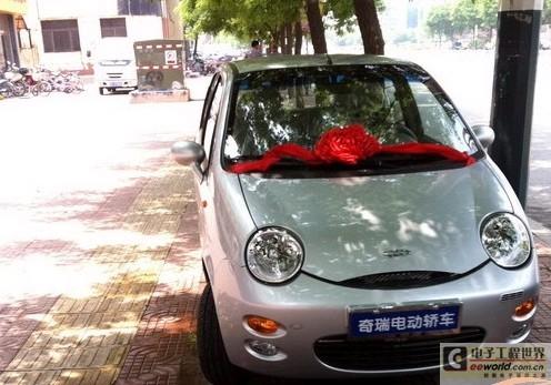 奇瑞QQ3EV电动汽车 参考价格:40800元(不含电池)